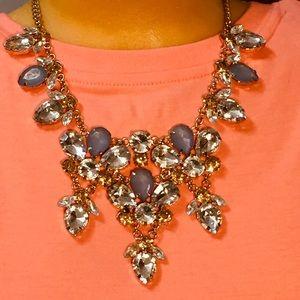 Stunning Natasha statement necklace